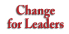 Change for Leaders logo